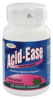 Enzymatic Therapy - Acid-Ease, Digestion Formula, 90 Veggie Caps