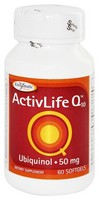 Enzymatic Therapy, ActivLife Q10, 50 mg, 60 Softgels