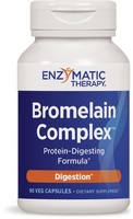 Enzymatic Therapy, Bromelain Plus, 90 Veggie Caps