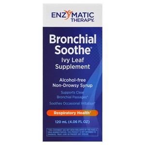 Enzymatic Therapy - Bronchial Soothe, Ivy Leaf Supplement, 3.4 fl oz (100 ml)