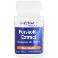 Enzymatic Therapy Coleus Forskohlii Extract 60 Veg Caps