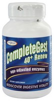 Enzymatic Therapy CompleteGest® 40+ Renew (formerly CompleteGest® Renew) 60 Veg Caps