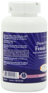 Enzymatic Therapy - Female Teens, Daily Multivitamin and Mineral, 120 Tablets