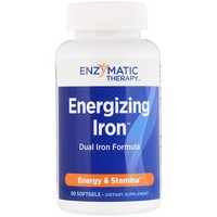Enzymatic Therapy Energizing Iron™ 90 softgels