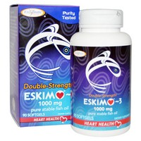 Enzymatic Therapy - Eskimo-3, Double Strength, 1000 mg, 90 Softgels