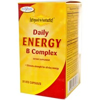 Enzymatic Therapy - Fatigued to Fantastic! Daily Energy B Complex, 30 Veggie Caps