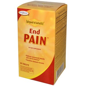 Enzymatic Therapy - Fatigued to Fantastic!, End Pain, 90 Tablets