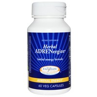 Enzymatic Therapy Herbal ADRENergize 60 Veg Caps