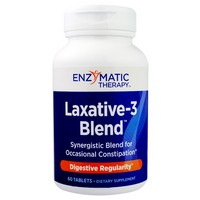 Enzymatic Therapy Laxative-3 Blend™ 60 tabs