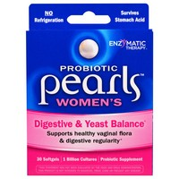 Enzymatic Therapy - Pearls YB, Yeast-Balancing Probiotics, 30 Capsules