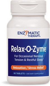 Enzymatic Therapy - Relax-O-Zyme, Stress/Sleep, 90 Tablets