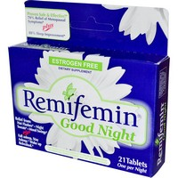 Enzymatic Therapy - Remifemin, Good Night, 21 Tablets