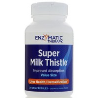 Enzymatic Therapy - Super Milk Thistle, Liver Health, 120 Veggie Caps