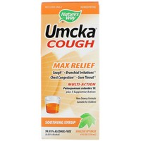 Nature's Way - Umcka Cough, Max Relief, Soothing Syrup, 4 oz (120 ml)