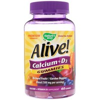 Nature's Way - Alive! Calcium, 60 Gummies