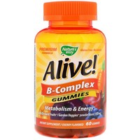 Nature's Way - Alive! B-Complex, Cherry Flavor, 60 Gummies