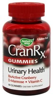 Nature's Way - CranRx, Urinary Health, BioActive Cranberry, 60 Gummies