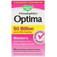 Nature's Way - Primadophilus Optima, Women's, 50 Billion, 30 Delayed Release Veggie Caps