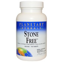 Planetary Herbals - Stone Free, 820 mg, 90 Tablets