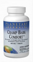 Planetary Herbals, Cramp Bark Comfort, 800 mg, 120 Tablets