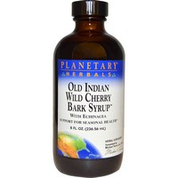 Planetary Herbals - Old Indian Wild Cherry Bark Syrup, 8 fl oz (236.56 ml)