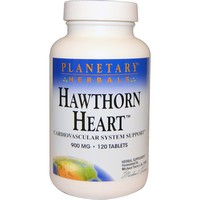 Planetary Herbals - Hawthorn Heart, 900 mg, 120 Tablets