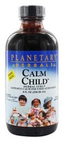 Planetary Formulas Calm Child, Herbal Syrup, 8 fl oz (236.56 ml), Glass