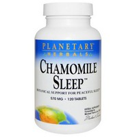 Planetary Herbals, Chamomile Sleep, 570 mg, 120 Tablets
