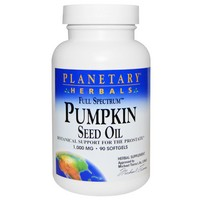 Planetary Herbals - Full Spectrum, Pumpkin Seed Oil, 1,000 mg, 90 Softgels