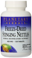 Planetary Formulas Freeze-Dried STinging Nettles, 420 mg, Tablets, 120 tablets