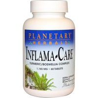 Planetary Herbals - Inflama-Care, 1,165 mg, 60 Tablets