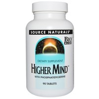Source Naturals Higher Mind™ w/Phosphatidyl Serine Bio-Aligned™ 90 tab
