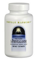 Source Naturals, L-Phenylalanine Powder, 3.53 oz (100 g)