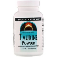 Source Naturals - Taurine Powder, 3.53 oz (100 g)