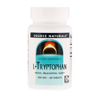 Source Naturals L-Tryptophan 500mg 60 tab