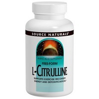 Source Naturals - L-Citrulline, Free-Form Powder, 3.53 oz (100 g)