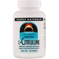 Source Naturals L-Citrulline 1000mg 60 tab