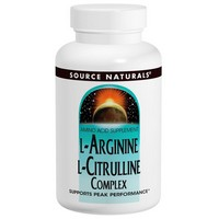 Source Naturals - L-Arginine L-Citrulline Complex, 1,000 mg, 240 Tablets