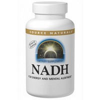 Source Naturals - NADH, Peppermint Sublingual, 10 mg, 10 Tablets