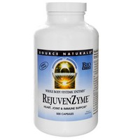 Source Naturals - RejuvenZyme, 500 Capsules