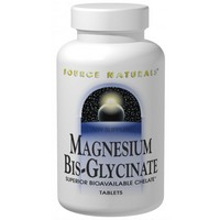 Source Naturals - Magnesium Bis-Glycinate, 120 Tablets