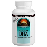 Source Naturals, DHA, Vegetarian, 200 mg, 30 Softgels