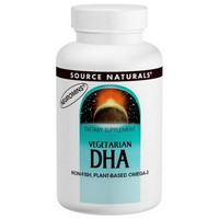 Source Naturals, Vegetarian DHA, 200 mg, 120 Softgels