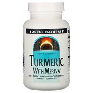 Source Naturals, Meriva Turmeric Complex, 500 mg, 120 Tablets
