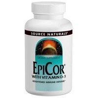 Source Naturals EPICOR® WITH VITAMIN D-3 120C 120 cap