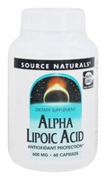 Source Naturals Alpha Lipoic Acid, Antioxidant Protection
