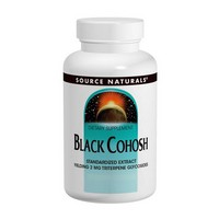 Source Naturals Black Cohosh Standardized Ext 80mg 120 tab