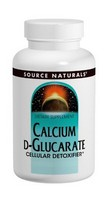 Source Naturals Calcium D-Glucarate 500mg 120 tab