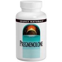 Source Naturals - Pregnenolone, 50 mg, 120 Tablets