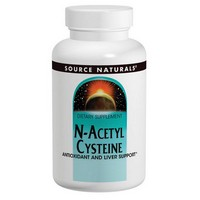 Source Naturals - N-Acetyl Cysteine, 600 mg, 120 Tablets